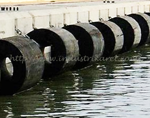 Marine Cylindrical Rubber Fender