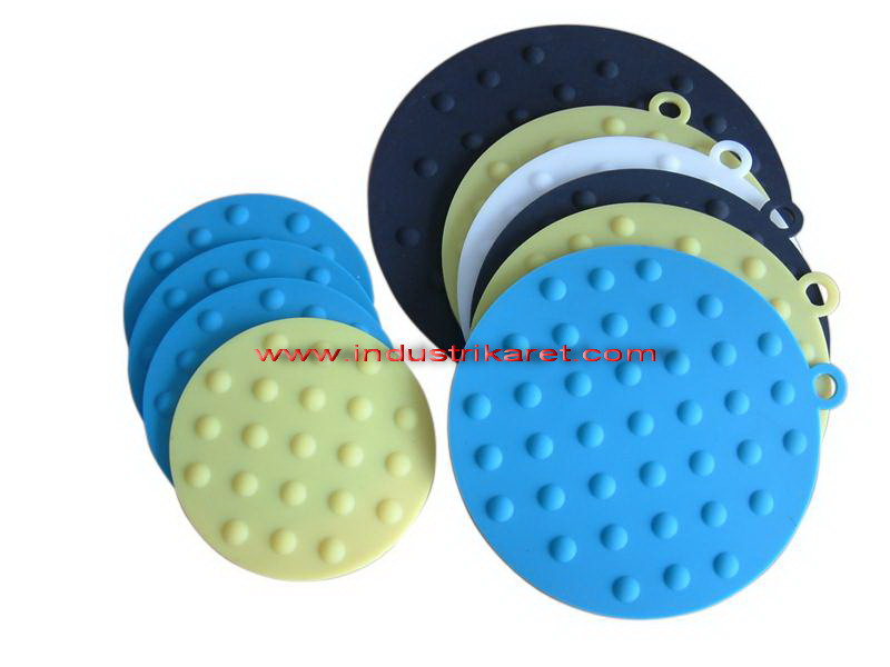 Assorted cup mats